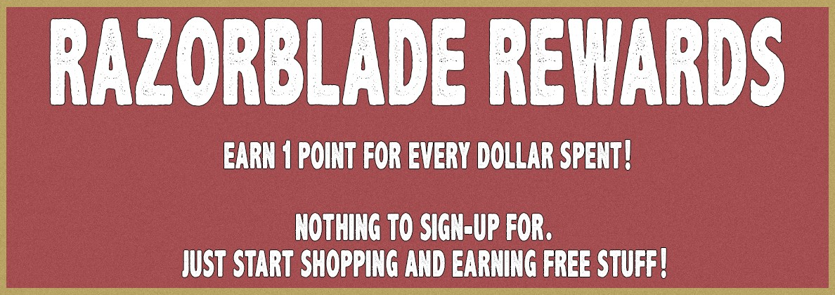Razorblade Rewards Program
