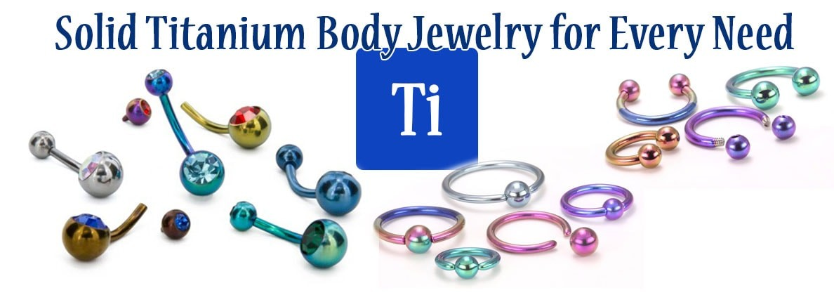 Titanium Body Jewelry
