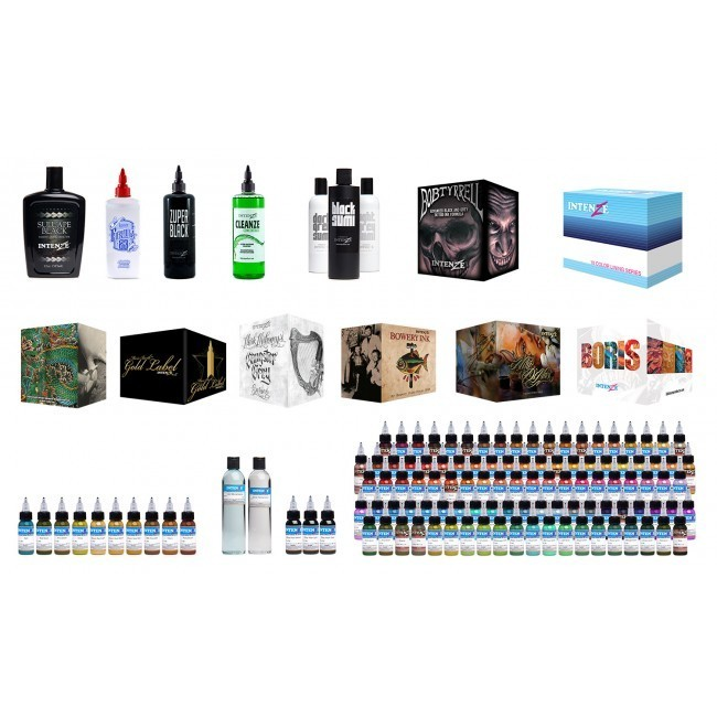 Intenze intenze ink sets for Razorblade tattoo supply