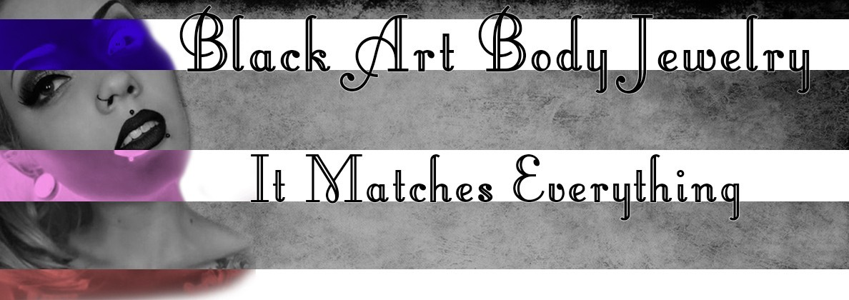 Black Art Black Body Jewelry