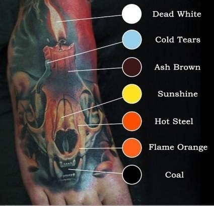 Tattoo Ink Colors >> Eternal Levgen Signature Series Set Eternal Tattoo Ink