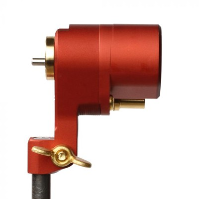 Feldman Revolute Rotary Tattoo Machine - Red - Power Stroke
