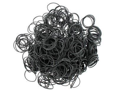 Tattoo supplies rubber bands 12 black for Razorblade tattoo supply