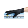 Vanguard Comfort Black Disposable Nitrile 4.8gm Gloves