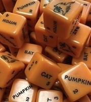 Limited Edition Halloween Tattoo Paint Roll (TPR) Dice