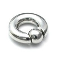 0g Captive Bead Ring with Snap Fit Ball