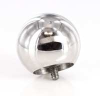 0g Internally Threaded Countersunk Steel Ball