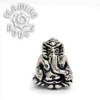 14g Sterling Silver Ganesha Threaded End