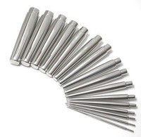 16 Piece Steel Eyelet Taper Set 10g - 11/16""