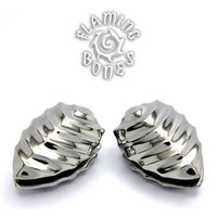 316LVM Steel Forma Flora Ear Weights