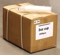3oz Plastic Cups - Case of 2000