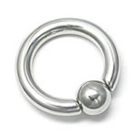 4g Captive Bead Ring with Snap Fit Ball