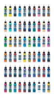 60 Color Full Set - Fusion Tattoo Ink