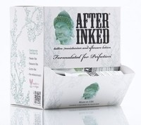 After Inked Tattoo Moisturizer and Lotion - 50 7ml Pillow Pack with Dispenser