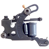 All Black Hatch-O-Matic Liner Coil Tattoo Machine