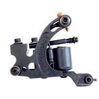 All Black Hatch-O-Matic Shader Coil Tattoo Machine