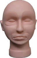 Biotouch Inc Tattoo Practice Mannequin Head with Removable Lips and Eyes