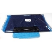 Black Plastic Disposable Apron - Pack of 100