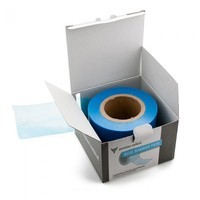 "Blue Barrier Film - One Roll of 1200 Sheets - 4"" x 6"""