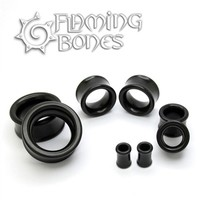 Classic Eyelets in Black Wood