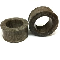 "Classic Eyelets in ""Chocolate"" Javanese Fossilized Wood"