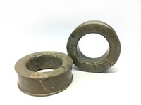"Classic Eyelets in ""Choke"" Grey Fossilized Coral"