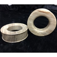 Classic Eyelets in Javanese Fossilized Wood - STE3