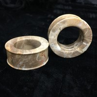 Classic Eyelets in Javanese Fossilized Wood - STE3B