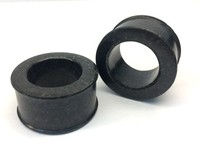 "Classic Eyelets in ""Midnight Black"" Spanish Granite"
