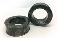 "Classic Eyelets in ""Sage Green"" Spanish Granite"