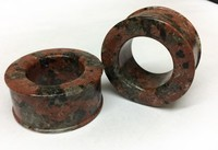 "Classic Eyelets in ""Terra Cotta Red"" Spanish Granite"