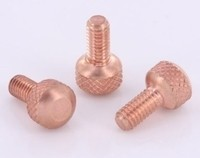 Copper Front Binding Post Screw - M4 Metric - Version 4