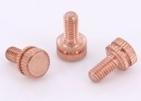 Copper Front Binding Post Screw - M4 Metric - Version 6