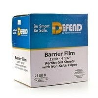 Defend Barrier Film - Blue Non-Stick Edge