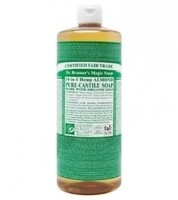 Dr. Bronner's Pure-Castile Soap - Almond – 32oz Bottle