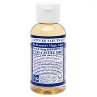 Dr. Bronner's Pure-Castile Soap - Peppermint – 2oz Bottle
