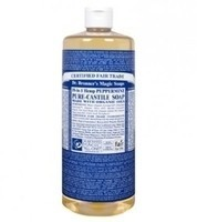 Dr. Bronner's Pure-Castile Soap - Peppermint – 32oz Bottle