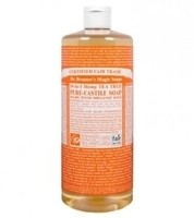 Dr. Bronner's Pure-Castile Soap - Tea Tree – 32oz Bottle