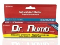 Dr. Numb Lidocaine Cream - 30 gram Tube