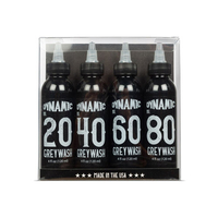 Dynamic 4 Bottle Greywash Tattoo Ink Set