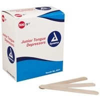 Dynarex Junior Tongue Depressors - Box of 500