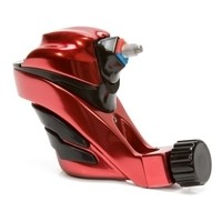Ego Apex Overkill - Rotary Tattoo Machine - Black on Red