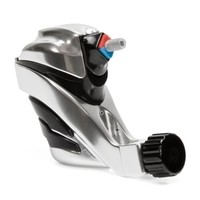 Ego Apex Overkill - Rotary Tattoo Machine - Black on Silver
