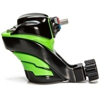Ego Apex Overkill - Rotary Tattoo Machine - Green on Black