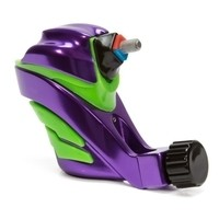 Ego Apex Overkill - Rotary Tattoo Machine - Green on Purple