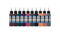 Evan Olin 10-Color Palette Signature Set - Fusion Tattoo Ink