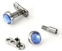 Extension Post for Internally Threaded Jewelry