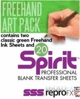 Green Freehand Art Pack by Spirit