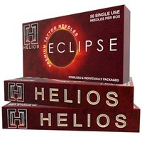 "Helios ""Eclipse"" Standard Tattoo Needles - Round / Curved Mag Shaders"