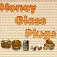 Honey Glass Plugs - Package Deal - 36 Plugs